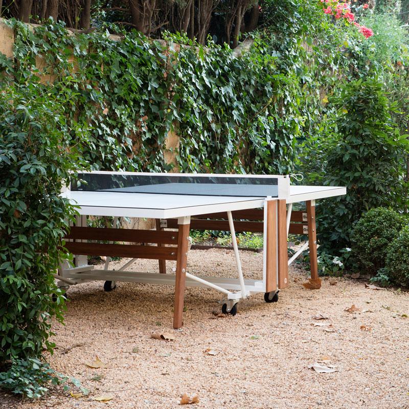 klappbarer tennistisch luxus billardtische. Black Bedroom Furniture Sets. Home Design Ideas